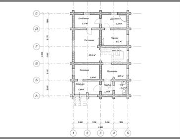Проект дома Чайковский
