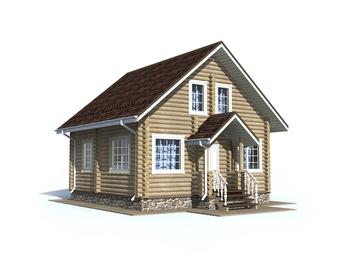 Проект дома Белый