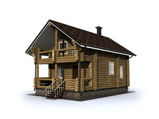 Проект дома Кедровый