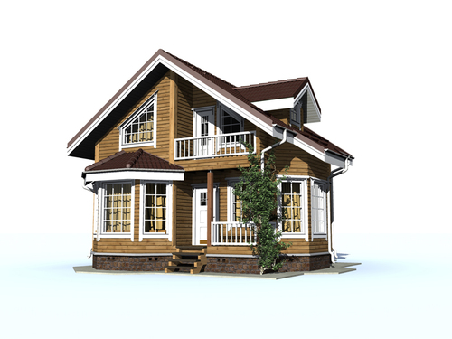 Проект дома Мирный 2