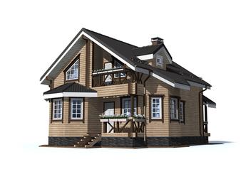 Проект дома Мирный 4
