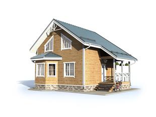 Проект дома Ожерелье