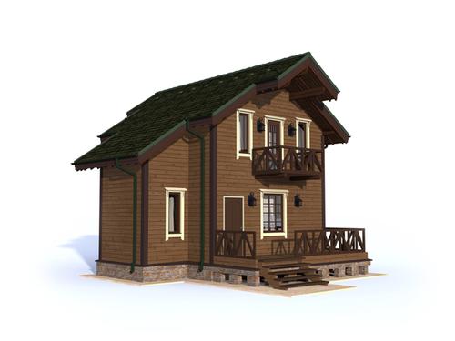 Проект дома Туран