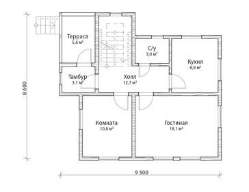 Проект дома Южа