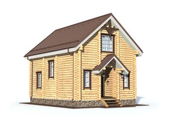 Проект дома Белый 2