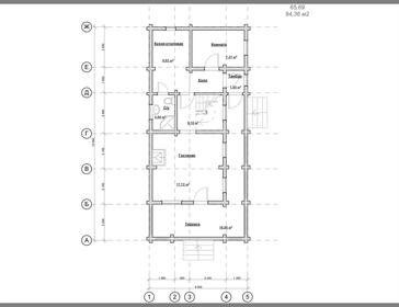 Проект дома Орлов 2
