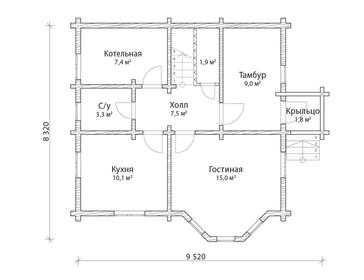 Проект дома Суджа 5