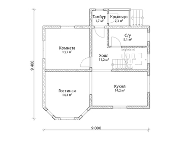 Проект дома Суджа 6