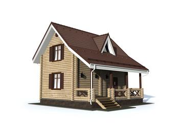 Проект дома Верея 2