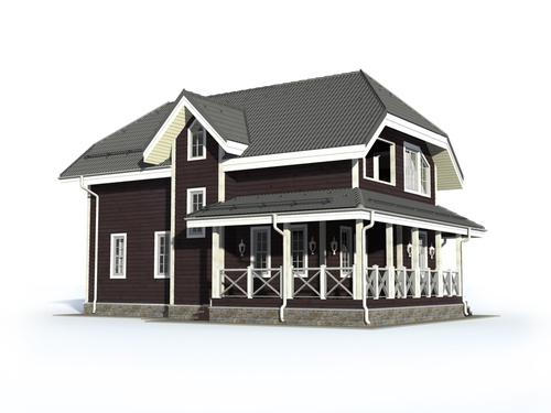 Проект дома Лукоянов