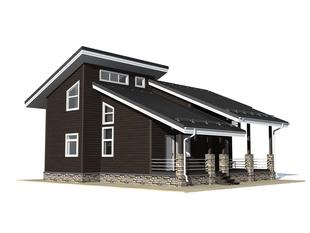 Проект дома Семилуки