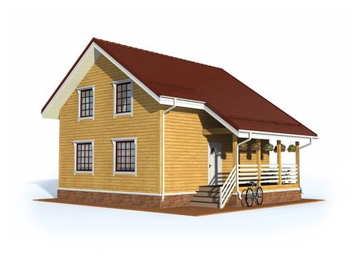 Проект дома Удачный
