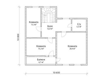 Проект дома Заречный