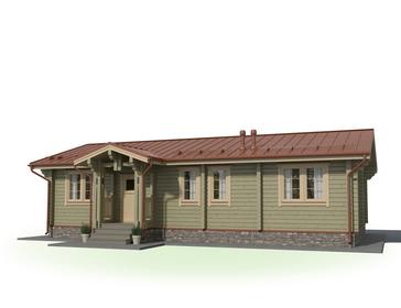 Проект дома Гаврилов Посад