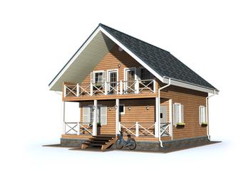 Проект дома Кедровый 3