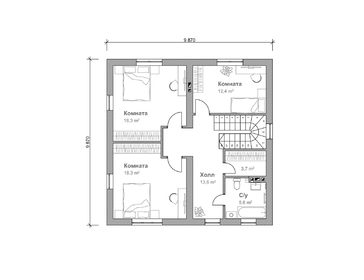 Проект дома Ковров 2