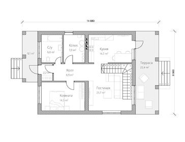 Проект дома Ковров 3