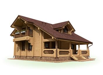 Проект дома Лесной 2