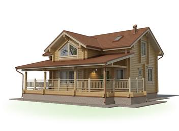 Проект дома Лесной 3