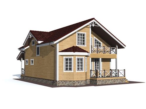 Проект дома Мирный 7