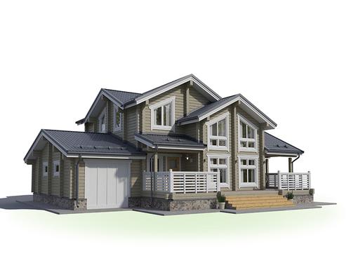 Проект дома Орлов 3