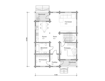 Проект дома Певек