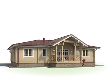 Проект дома Радужный