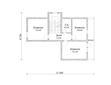 Проект дома Шумиха 2