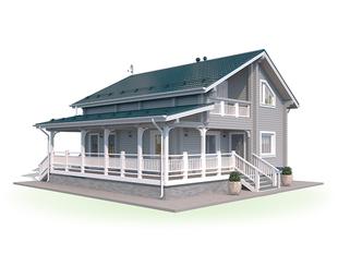 Проект дома Старая Русса 3