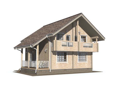 Проект дома Удачный 5