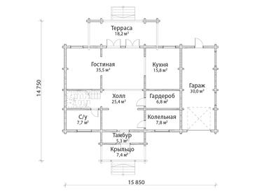 Проект дома Полевской