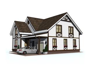 Проект дома Тихвин