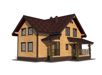 Проект дома Тутаев