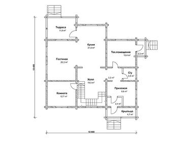Проект дома Касимов