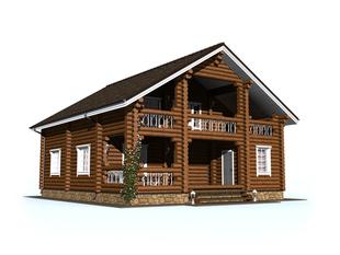 Проект дома Княгинино 2