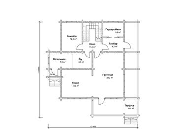 Проект дома Макаров