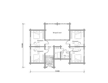 Проект дома Тайга 5
