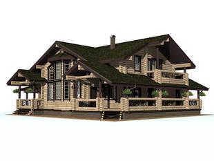 Проект дома Сосновый Бор