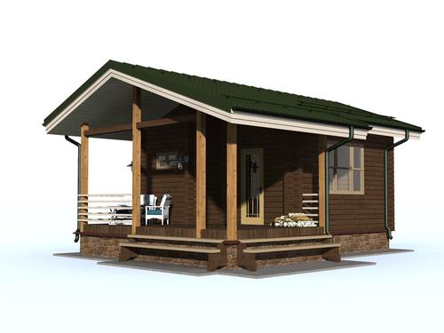 Проект дома Кувшиново