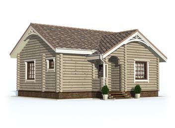 Проект дома Островной