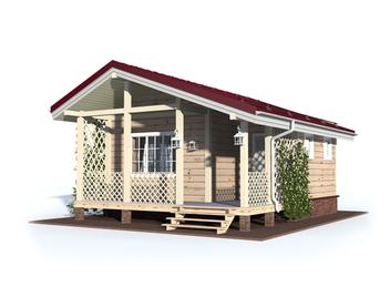 Проект дома Плес