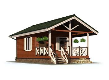 Проект дома Пустошка