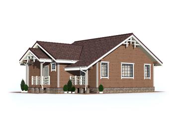Проект дома Рождественский