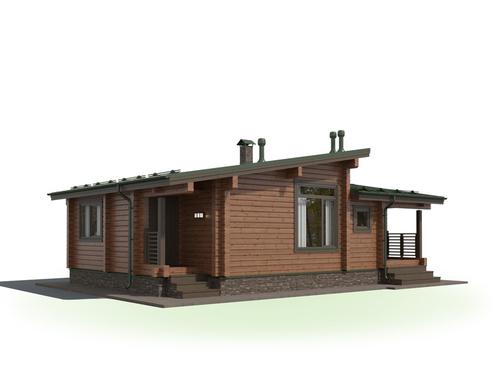 Проект дома Велиж 2