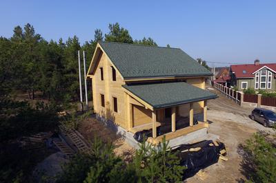 Дом из клееного бруса