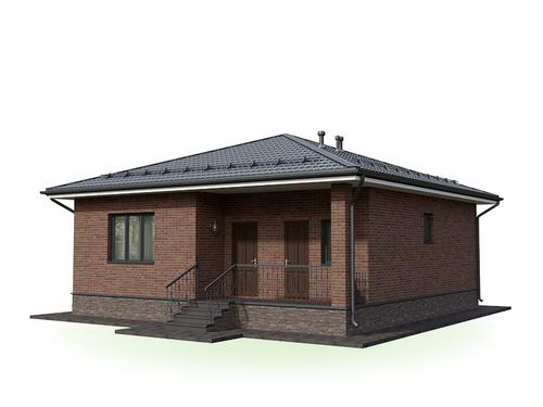 Проект дома Октябрьский 2