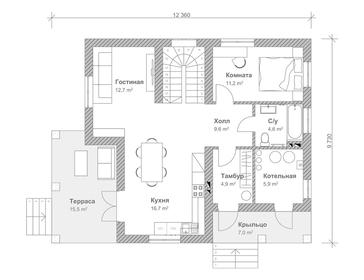 Проект дома Березники