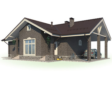 Проект дома Городец 7