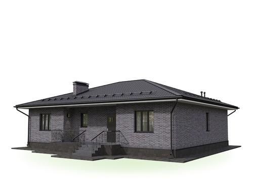 Проект дома Октябрьский 3