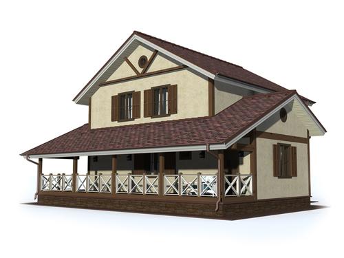 Проект дома Батурлиновка